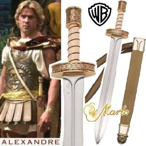 ALEXANDER - EPEE DE CEREMONIE OFFICIELLE SIGNATURE EDITION MARTO (IMPORT USA WARNER BROS)