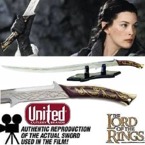 LOTR - ARWEN SWORD OFFICIEL
