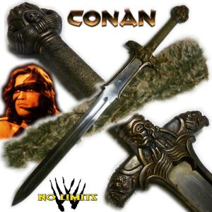 CONAN - EPEE ATLANTEAN REPRODUCTION AUTHENTIQUE (PRACTICAL ARTISAN FORGERON - NO LIMITS)