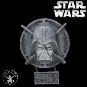 STAR WARS - DECOR MURAL DARK VADOR OFFICIEL (RUBIE'S COLLECTOR)