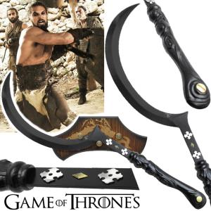 GAME OF THRONES - ARAKH, EPEE DE KHAL DROGO OFFICIELLE LIMITED EDITION