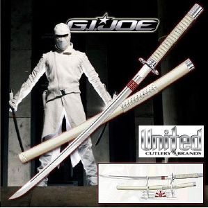 G.I. JOE - STORM SHADOW SWORD FORGE MAIN ET AFFUTE LIMITED EDITION (IMPORT USA PARAMOUNT PICTURES)