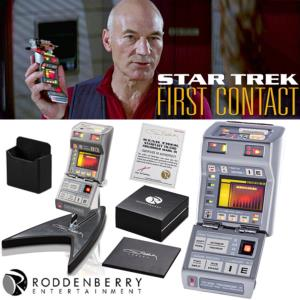 STAR TREK : FIRST CONTACT - STARFLEET TR-590 MARK IX TRICORDER OFFICIEL LIMITED EDITION