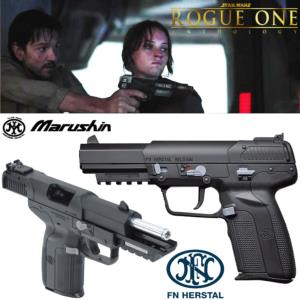 STAR WARS : ROGUE ONE ANTHOLOGY - PISTOLET FIVE-SEVEN OFFICIEL INSPIRATION BLASTER CASSIAN ANDOR