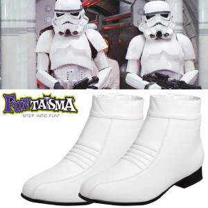 STAR WARS - STORMTROOPER BOTTES (TAILLE M : 44-45)