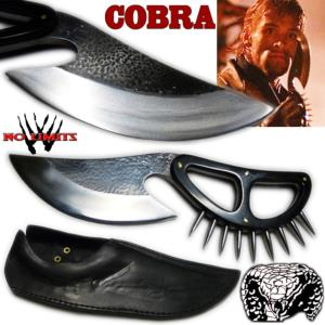 COBRA (STALLONE) - POIGNARD REPRODUCTION AUTHENTIQUE (PRACTICAL ARTISAN FORGERON - NO LIMITS)