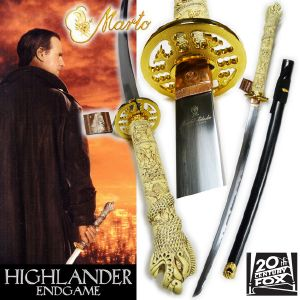 HIGHLANDER ENDGAME - SABRE CONNOR MAC LEOD OFFICIEL MARTO LIMITED ED. (IMPORT US 20TH CENTURY FOX)