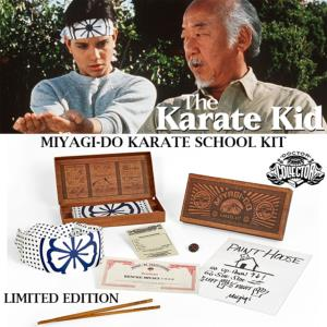 KARATE KID (THE) - COFFRET MIYAGI-DO KARATE SCHOOL KIT OFFICIEL LIMITED EDITION