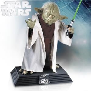 STAR WARS - STATUE LIFE SIZE MAITRE YODA ECHELLE 1:1 SUPREME EDITION (TAILLE REELLE)