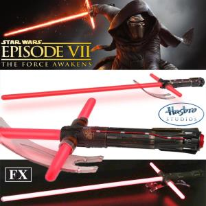 STAR WARS - SABRE LASER CHEVALIER KYLO REN (FORCE FX LIGHTSABER)