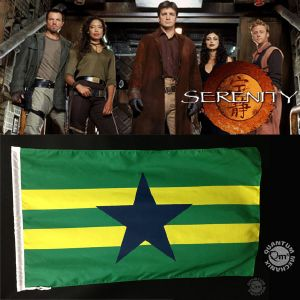 "SERENITY - DRAPEAU ""INDEPENDENTS"" OFFICIEL"