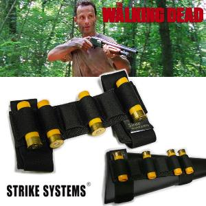 WALKING DEAD (THE) - CARTOUCHIERE + 4 VERITABLES CARTOUCHES 20MM NEUTRALISEES