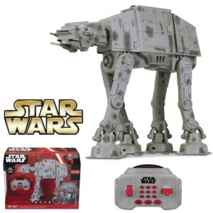 STAR WARS - U-COMMAND AT-AT OFFICIEL RADIOCOMMANDE INTERACTIF SON & LUMIERE