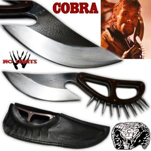 COBRA (STALLONE) - POIGNARD REPRODUCTION CUSTOM AUTHENTIQUE (PRACTICAL ARTISAN FORGERON - NO LIMITS)