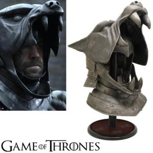 GAME OF THRONES - THE HOUND CASQUE OFFICIEL LIMITED EDITION (LIMIER SANDOR CLEGANE)