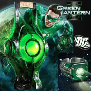 GREEN LANTERN - PACK : POWER BATTERY ET ANNEAU OFFICIELS (DC COMICS - THE NOBLE COLLECTION)