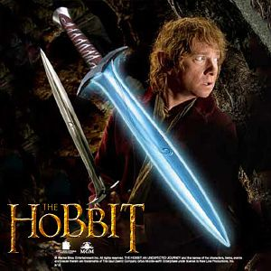 THE HOBBIT - EPEE LUMINEUSE DE BILBO OFFICIELLE