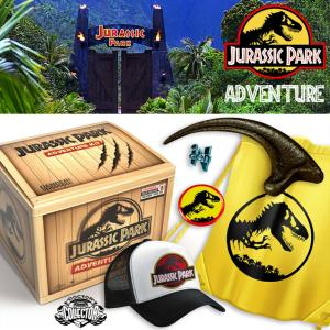 JURASSIC PARK - COFFRET ADVENTURE KIT AVEC GRIFFE VELOCIRAPTOR OFFICIEL