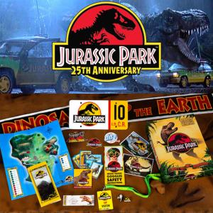 JURASSIC PARK - COFFRET LEGACY KIT 25TH ANNIVERSARY OFFICIEL LIMITED EDITION