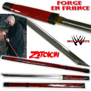ZATOICHI – SABRE AUTHENTIQUE (PRACTICAL ARTISAN FORGERON - NO LIMITS)