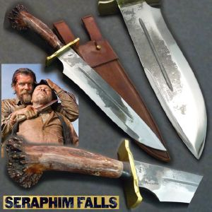 SERAPHIM FALLS - POIGNARD CUSTOM VERSION BRUT DE FORGE POLI (PRACTICAL MAITRE FORGERON - NO LIMITS)