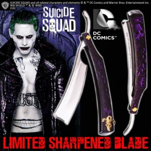 SUICIDE SQUAD - JOKER RASOIR OFFICIEL LIMITED SHARPENED BLADE (DC COMICS - THE NOBLE COLLECTION)
