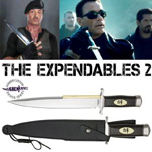 THE EXPENDABLES 2 - POIGNARD TOOTHPICK OFFICIEL (UNITED CUTLERY)