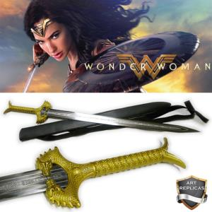"WONDER WOMAN - REPLIQUE EPEE "" GOD KILLER"" AVEC FOURREAU DORSAL (REPRODUCTION ART REPLICAS)"