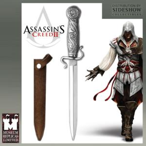 ASSASSIN'S CREED II - DAGUE DE EZIO OFFICIELLE (SIDESHOW - WINDLASS STUDIOS)