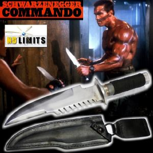 COMMANDO - POIGNARD REPRODUCTION AUTHENTIQUE (PRACTICAL MAITRE FORGERON - NO LIMITS)