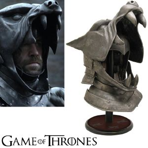 GAME OF THRONES - THE HOUND'S HELMET OFFICIEL LIMITED EDITION