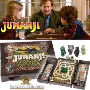 JUMANJI - JEU DE PLATEAU OFFICIEL TAILLE REELLE 1/1 (VERSION ORIGINALE)
