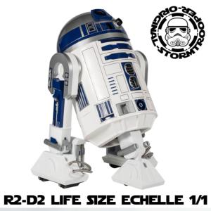 STAR WARS - R2D2 DROID MOULAGE D'ORIGINE OFFICIEL LIMITED EDITION TAILLE REELLE (ECHELLE 1/1)