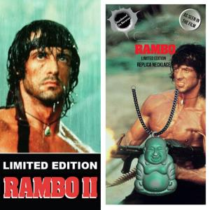 RAMBO II, LA MISSION - COLLIER OFFICIEL NUMEROTE LIMITED EDITION