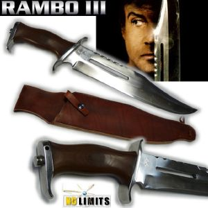RAMBO III - POIGNARD REPRODUCTION AUTHENTIQUE (PRACTICAL MAITRE FORGERON - NO LIMITS)