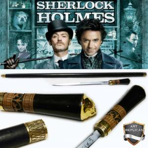 SHERLOCK HOLMES - CANNE EPEE DOCTEUR WATSON (IMPORT INDIA - REPRODUCTION ART REPLICAS)