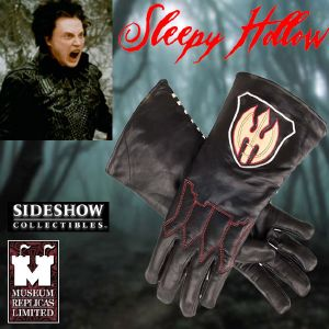 SLEEPY HOLLOW - GANTS HORSEMAN OFFICIELS (TAILLE XL - PRACTICAL - WINDLASS STUDIO)
