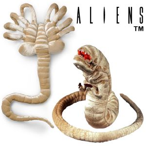 ALIENS - SET 2 PELUCHES OFFICIELLES ECHELLE 1:1 ALIEN FACEHUGGER & ALIEN CHESTBURSTER