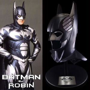 "BATMAN & ROBIN - MASQUE OFFICIEL ""SONAR COWL"" PROP REPLICA LIMITED EDITION"