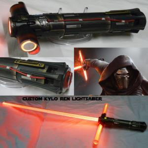 STAR WARS - SABRE LASER CHEVALIER KYLO REN ULTRA FX (LAME AMOVIBLE-PRACTICAL-ULTRA SABERS UKLLC)