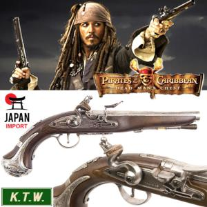 PIRATES DES CARAIBES - PISTOLET JACK SPARROW (IMPORT JAPAN - VERSION KTW AIRSOFT)