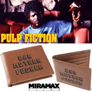 PULP FICTION - PORTE FEUILLE BAD MOTHER FUCKER OFFICIEL VERSION ORIGINALE (CUIR VERITABLE)