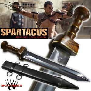 SPARTACUS - GLAIVE COURT REPRODUCTION AUTHENTIQUE (PRACTICAL MAITRE FORGERON - NO LIMITS)