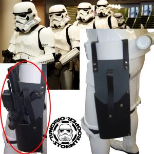 STAR WARS - STORMTROOPER HOLSTER CUIR OFFICIEL POUR BLASTER E11