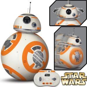 STAR WARS - BB-8 DROID OFFICIEL RADIOCOMMANDE SONORE INTERACTIF (ECHELLE 1/2)