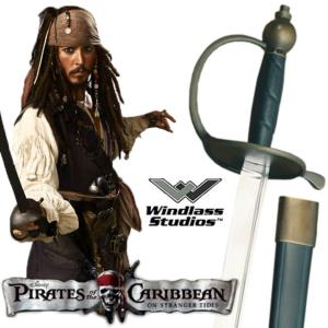 PIRATES DES CARAIBES - SABRE OFFICIEL JACK SPARROW (PRACTICAL - WINDLASS STUDIO)