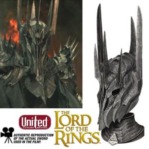 LOTR - SAURON CASQUE OFFICIEL LIMITED EDITION (ECHELLE 1/1 - UNITED CUTLERY)