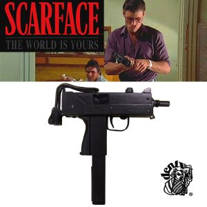 SCARFACE - SUBMACHINE GUN TOUT METAL