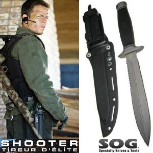 SHOOTER - KNIFE DAGGERT OFFICIEL