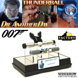 JAMES BOND : THUNDERBALL - SET BREATHERS EVOLUTION LIMITED EDITION PROP REPLICA